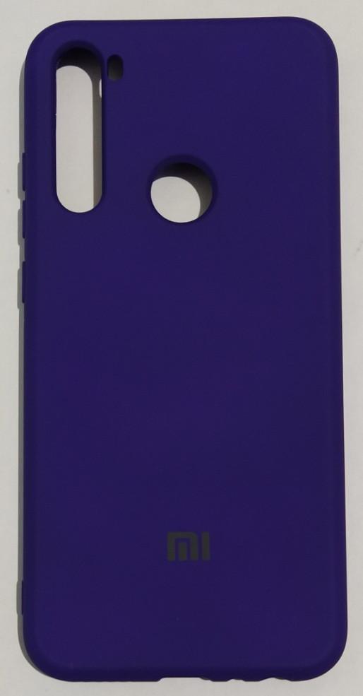 "Силіконовий чохол ""Original Silicone Case"" Xiaomi Redmi Note 8T Violet"