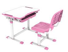 Детская парта трансформер со стульчиком Cubby Sorpresa Pink для дома и школы