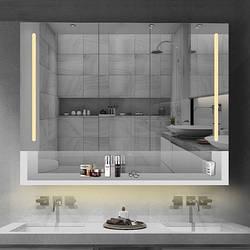Зеркало-шкаф для ванной комнаты. Модель RD-474