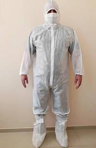 Защитный комбинезон Ceh-V 164-170 см Белый (hub_wMtm27004)