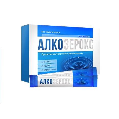 АлкоЗерокс препарат от алкоголизма Alkozeroks ViP