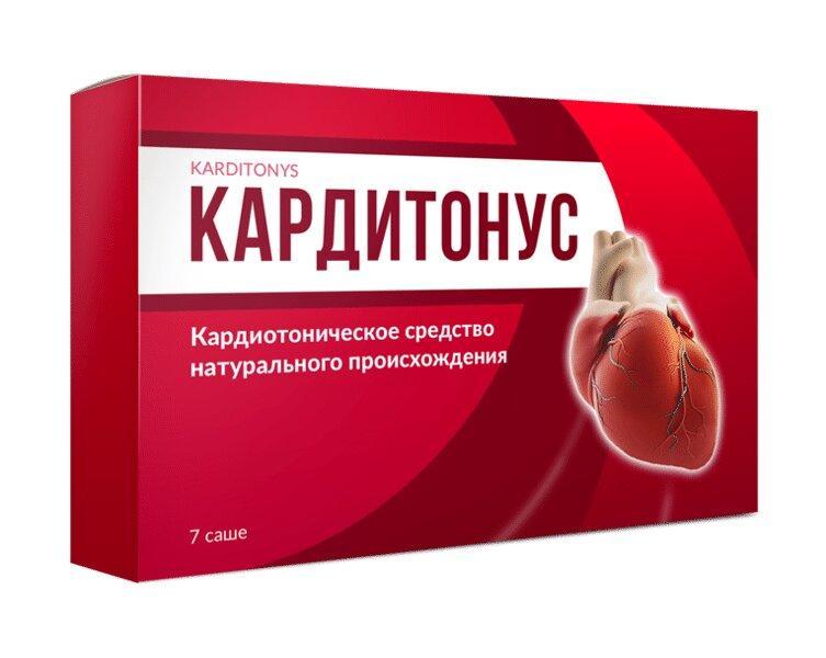 Кардитонус препарат для нормализации давления Carditonus ViP