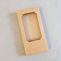 Коробка для плитки шоколаду 16х8х1,7 див. (крафт)