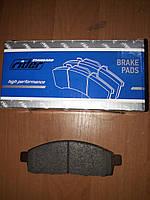 Тормозные колодки передние Mitsubishi L200, Pajero Sport II (4605A198, MZ690356, 4605A284,6000609714,60006097)