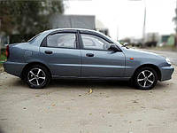 Дефлекторы окон (ветровики) Chevrolet LANOS 2005