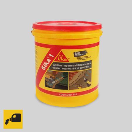 Sika®-1 - герметизирующая добавка для строительных растворов