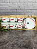 Сервиз для капучино 12 предметов 160 мл Ellipse Fuchsia Luminarc 67454/67808, фото 3