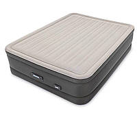 Кровать надувная двуспальная Intex PremAire 64770 (203x152x46 см)