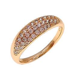 Кольцо Xuping из медицинского золота, белые фианиты, позолота 18K, 11875                         (18)