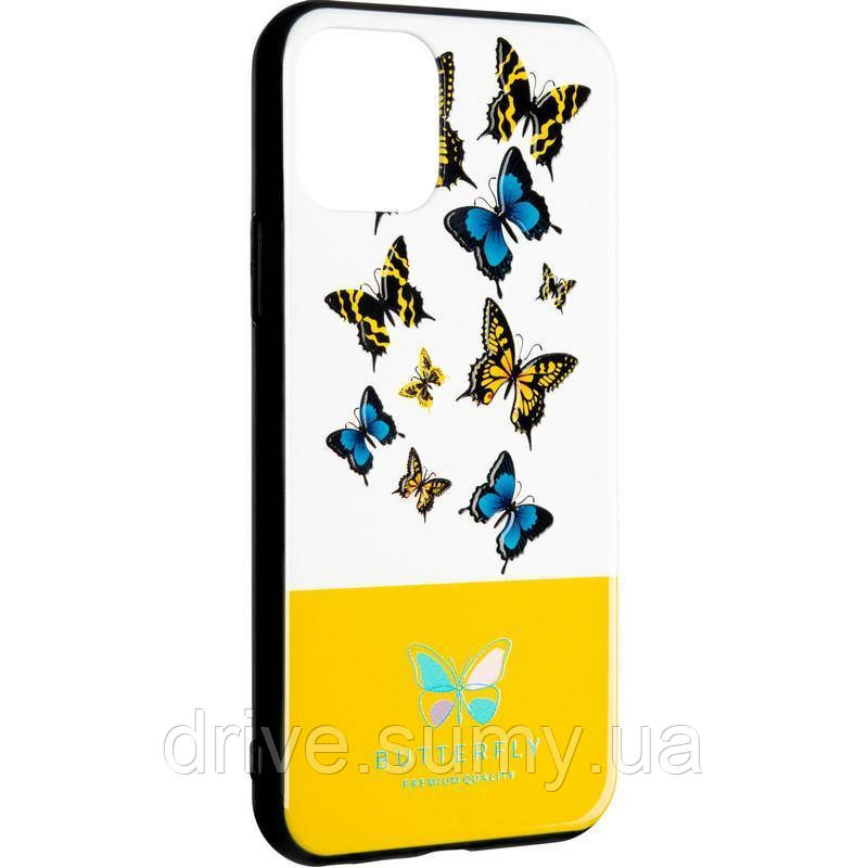 Butterfly Case for Huawei P Smart Z Yellow