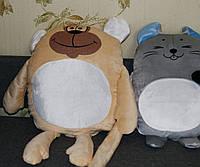"""Подушка-игрушка с фото, """"Обезьянка"""", принт на подушку, фото на подушку"""