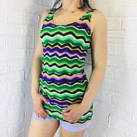Туніка жіноча кольорова 1222, фото 1