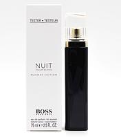 TESTER  женская туалетной вода Hugo Boss Nuit Pour Femme / Хуго Босс Ночь женские / 75 мл.