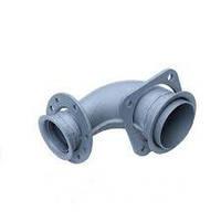 Труба приемная ЕВРО (ракушка) задняя правая 010 для КамАЗ 54115-1203010-10