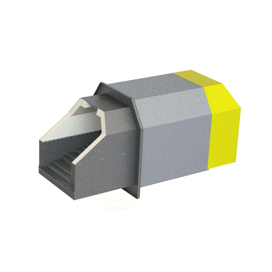 Пеллетная горелка Kvit Optima M 1000 кВт
