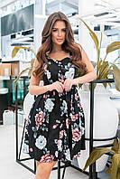 Сарафан женский в цветочек в расцветках 60394, фото 1