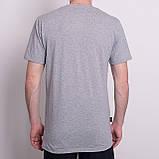 Чоловіча спортивна футболка Reebok, світло-сірого кольору, фото 2