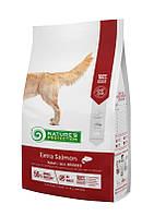 Natures Protection EXTRA SALMON (БЕЗЗЕРНОВОЙ ЭКСТРА ЛОСОСЬ) корм для собак всех пород, 12 кг
