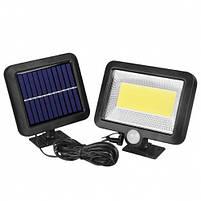 Ліхтар вуличний Split Solar Lamp FL-1629B на сонячній батареї з акумулятором, фото 2
