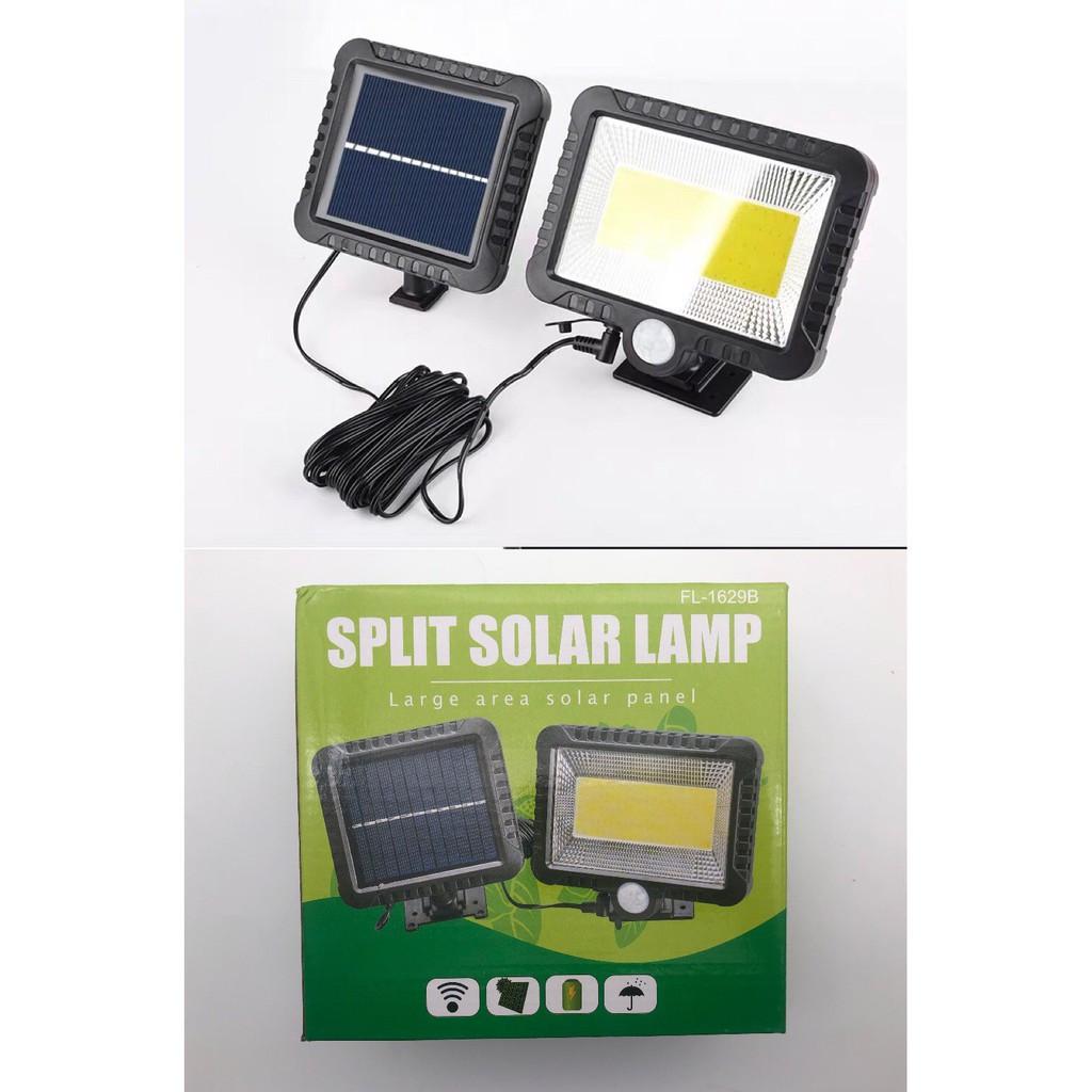Ліхтар вуличний Split Solar Lamp FL-1629B на сонячній батареї з акумулятором