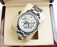 Годинник Michael Kors Date 36mm Silver Quartz. Репліка, фото 1