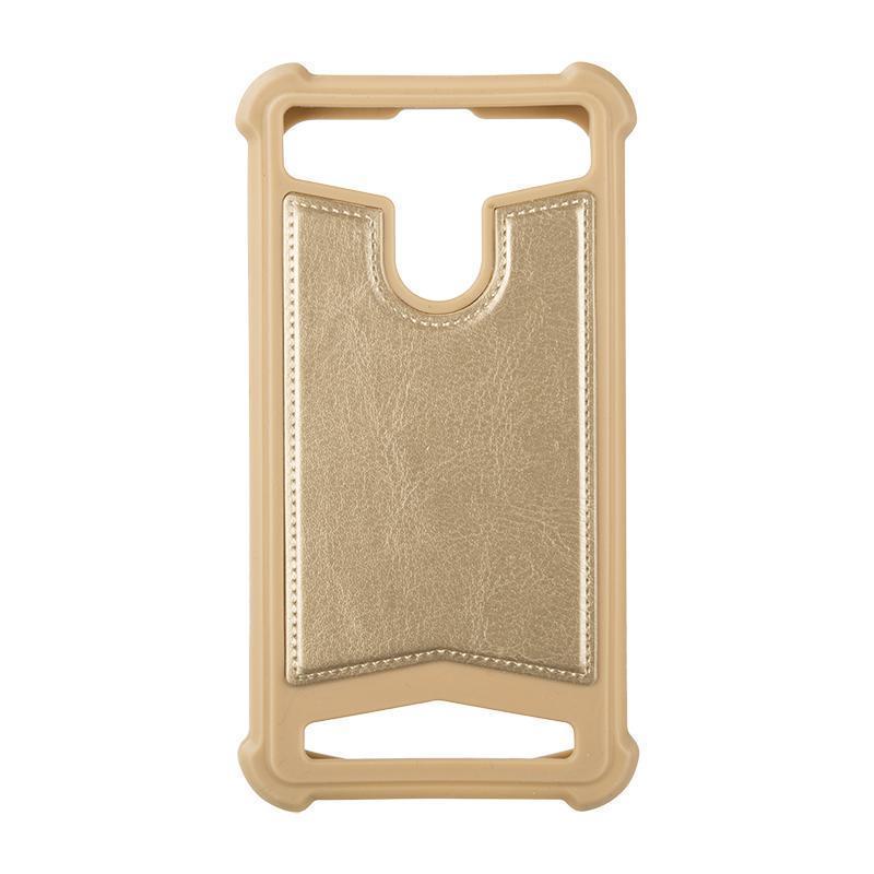 """Универсальный чехол для телефона 5,5""""-5,7"""" Gold Mobikin"""