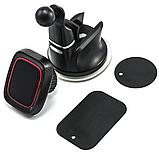 Автомобильный магнитный держатель Primo H-CT301 для телефона на присоске - Black, фото 3