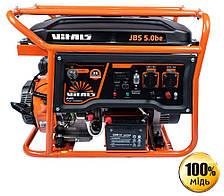 Генератор бензиновый Vitals JBS 5.0be (5.5 кВт, электростартер)