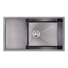 Кухонная мойка Imperial Handmade D7844BL 3.0/1.2 мм (IMPD7844BLPVDH12)