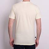 Чоловіча спортивна футболка Reebok, блідо-жовтого кольору, фото 2
