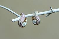 Серьги кольца, широкие серьги кольца,серьги конго