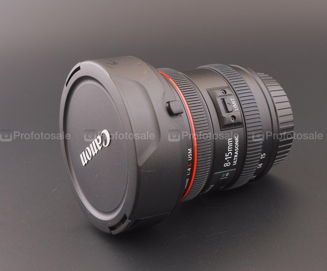 Canon EF 8-15mm f/4L fisheye