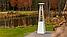 Садовый камин газовый KRATKI UMBRELLA стальной белый, фото 8