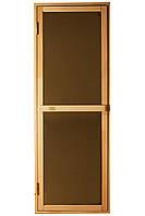 Дверь для бани и сауны Tesli Bravo Sateen 1900 х 700, фото 1
