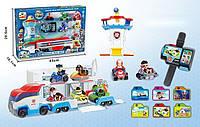 Игровой набор Героев «Трейлер-гараж на колесах».
