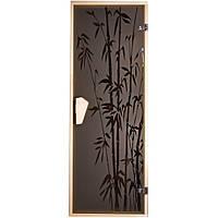 Дверь для бани  и сауны  Tesli Бамбук 1900 х 700, фото 1