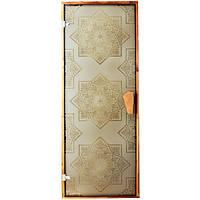 Дверь для сауны и хаммама Tesli Сезам 2050 х 800, фото 1