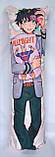 Дакімакура Подушка обнімашка 120х40 см із змінною наволочкою Мідорія, фото 2