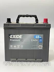 Автомобильный аккумулятор EXIDE PREMIUM EA456 45Ah JR+ Asia