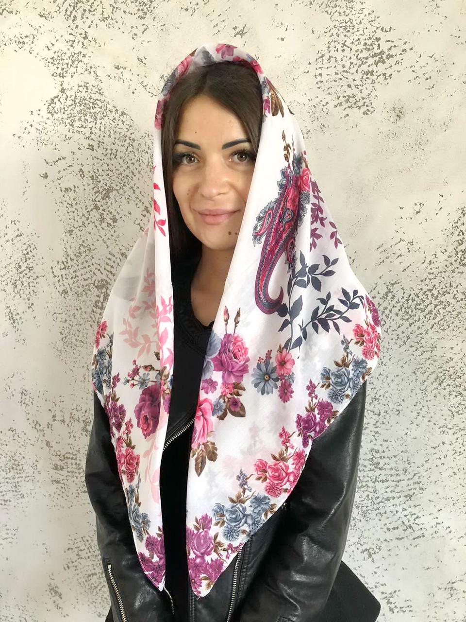 "Платок батистовый турецкий ""Лейла"" 329012"