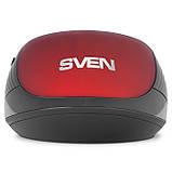 Мышка SVEN RX-560SW красная беспроводная тихая, фото 8