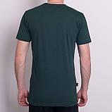 Чоловіча спортивна футболка Reebok, зеленого кольору, фото 5