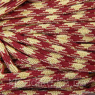 Паракорд для плетения браслетов, Полиэстер, 4 мм, Цвет: Коричневый (5 метров)