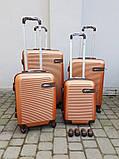 Luggage FLY 1101Польща валізи чемоданы сумки на колесах, фото 2