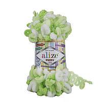 Пряжа для вязания руками (100%-микрополиэстер, 100г/9,2м) Alize PUFFY color 5937
