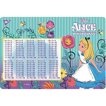 """Підкладка для столу дит. """"Yes"""" №491831 Alice Таблиця множення(100)"""