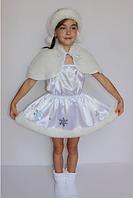 Детский карнавальный костюм Снежинка для девочек от 3 до 6 лет