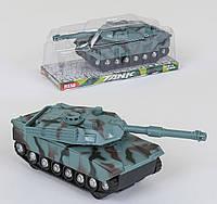 Инерционный военный танк с поворотной башней Small Toys 383-22D Хаки 2-66698, КОД: 1248940