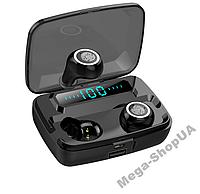 Беспроводные сенсорные Bluetooth наушники MS11 TWS. Бездротові вакуумні навушники. Беспроводні наушники, фото 1