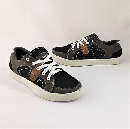 Мужские Кроссовки Кеды Мокасины Черные (размеры: 40,42,43,45), фото 2
